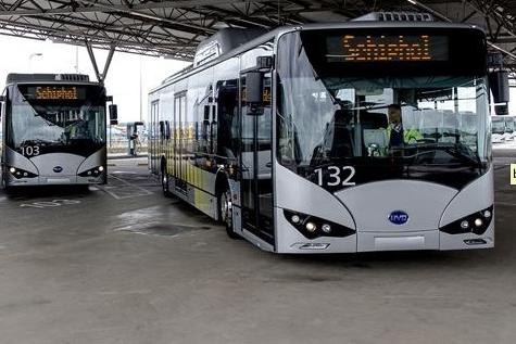 schiphol BYD bussen